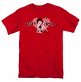 Betty Boop t-shirt Vintage Cutie Pup mens red