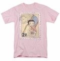 Betty Boop t-shirt Vintage Stamp mens pink