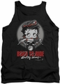 Betty Boop tank top Born To Ride adult black