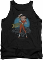 Betty Boop tank top Fries With That adult black