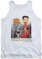 Betty Boop tank top Hollywood adult white