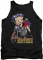 Betty Boop tank top Not Your Average Mother adult black