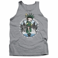 Betty Boop tank top NYC adult athletic heather