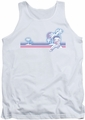 Betty Boop tank top Reto Surf Band adult white