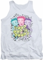 Betty Boop tank top Sketch adult white