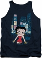Betty Boop tank top Square adult navy
