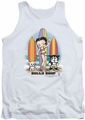 Betty Boop tank top Surfers adult white