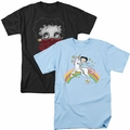 Betty Boop womens t-shirts and tank tops