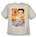 Betty Boop youth teen t-shirt Attack of 50 Foot Boop cream