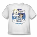 Betty Boop youth teen t-shirt Betty Bye white