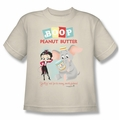Betty Boop youth teen t-shirt Boop Peanut Butter cream
