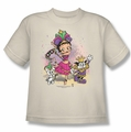 Betty Boop youth teen t-shirt Celebration cream