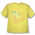 Betty Boop youth teen t-shirt Classy Dame banana