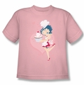 Betty Boop youth teen t-shirt Cupcake pink