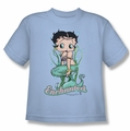 Betty Boop youth teen t-shirt Enchanted Boop light blue