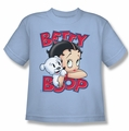Betty Boop youth teen t-shirt Forever Friends light blue