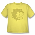 Betty Boop youth teen t-shirt Hey There banana