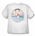 Betty Boop youth teen t-shirt Miami Beach white