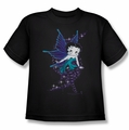Betty Boop youth teen t-shirt Sparkle Fairy black