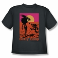 Betty Boop youth teen t-shirt Summer charcoal