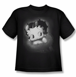 Betty Boop youth teen t-shirt Vintage Star black