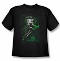 Betty Boop youth teen t-shirt Virtual Boop black