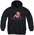 Betty Boop youth teen hoodie Glowing black