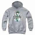 Betty Boop youth teen hoodie Nyc athletic heather