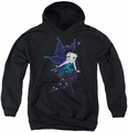 Betty Boop youth teen hoodie Sparkle Fairy black