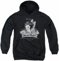 Betty Boop youth teen hoodie Street Angel black