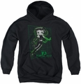 Betty Boop youth teen hoodie Virtual Boop black