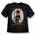 Beverly Hillbillies youth teen t-shirt Sophistimacated black