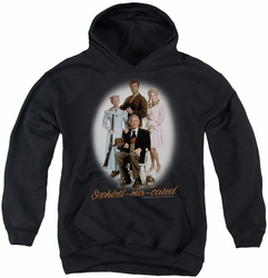 Beverly Hillbillies youth teen hoodie Sophistimacated black