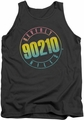 Beverly Hills 90210 tank top Color Blend Logo mens charcoal