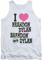 Beverly Hills 90210 tank top I Heart 90210 mens white