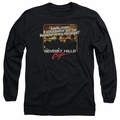 Beverly Hills Cop adult long-sleeved shirt Banana In My Tailpipe black