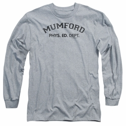 Beverly Hills Cop adult long-sleeved shirt Mumford heather