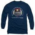Beverly Hills Cop adult long-sleeved shirt Nicest Police Car navy