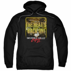 Beverly Hills Cop III pull-over hoodie The Heats Back On adult black