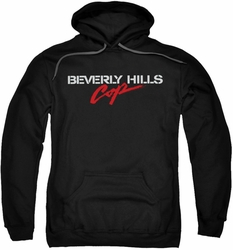 Beverly Hills Cop pull-over hoodie Logo adult black