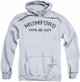 Beverly Hills Cop pull-over hoodie Mumford adult athletic heather