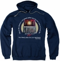 Beverly Hills Cop pull-over hoodie Nicest Police Car adult navy