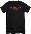 Beverly Hills Cop slim-fit t-shirt Logo mens black