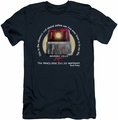 Beverly Hills Cop slim-fit t-shirt Nicest Police Car mens navy