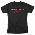 Beverly Hills Cop t-shirt Logo mens black