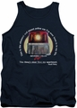 Beverly Hills Cop tank top Nicest Police Car mens navy