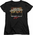 Beverly Hills Cop womens t-shirt Banana In My Tailpipe black