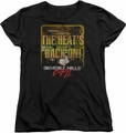 Beverly Hills Cop womens t-shirt The Heats Back On black