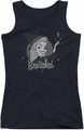 Bewitched juniors tank top Vintage Witch black