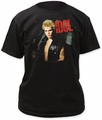 Billy Idol idol adult tee black t-shirt pre-order